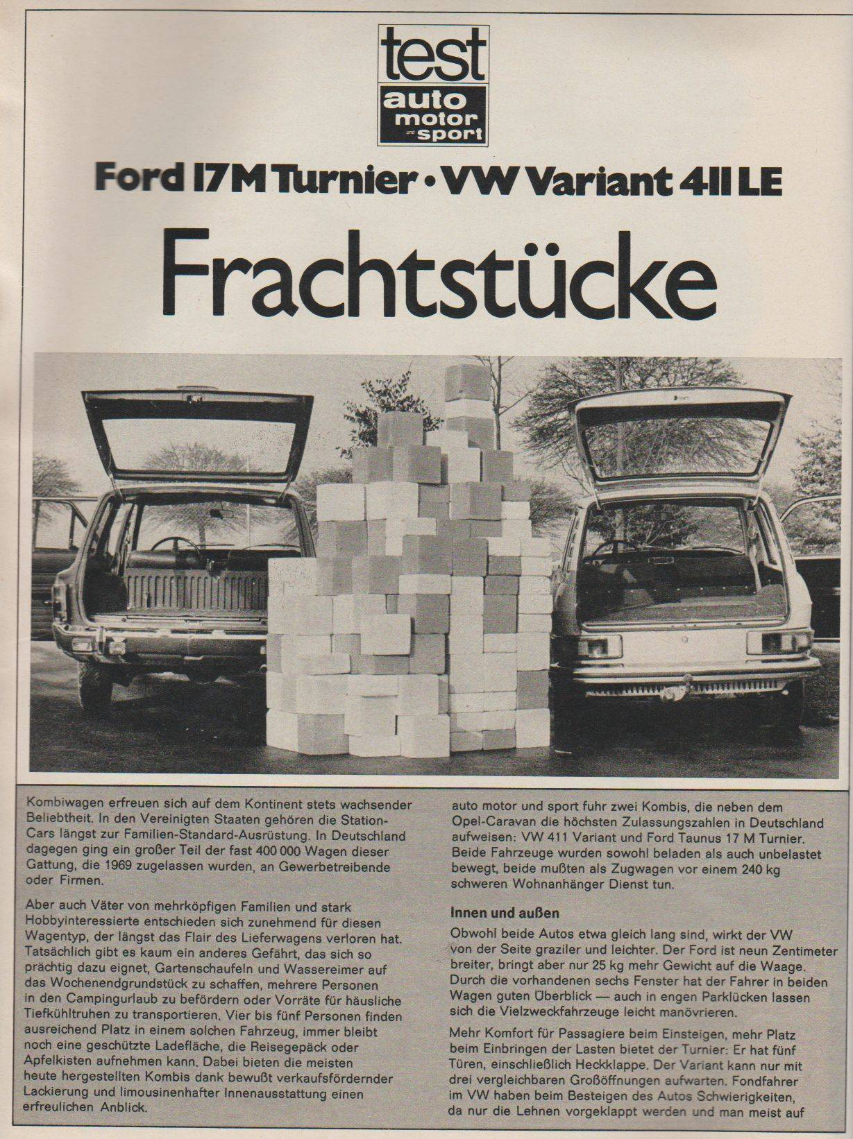 VW 411 LE Variant - Ford 17 M Turnier-01